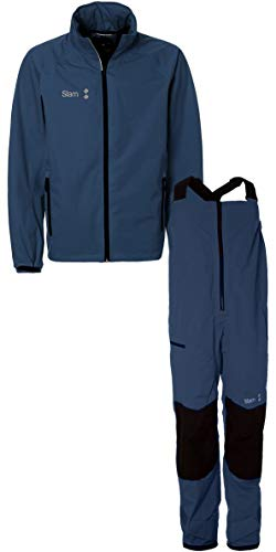 Slam Win-D Sailing Jacket + Trouser Combi Set Navy Slam Size - XL