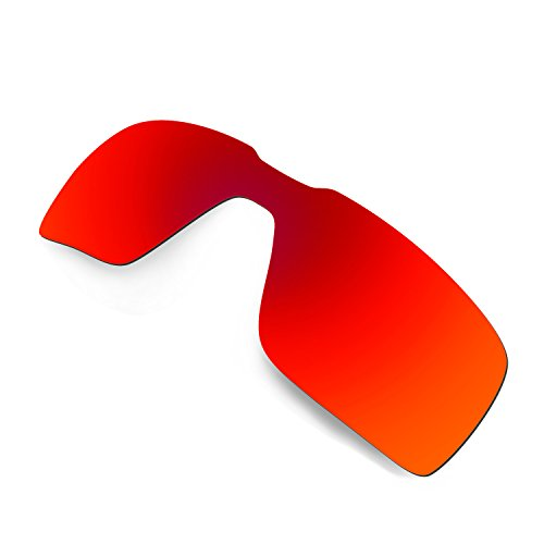 03dbc041a8d Hkuco Plus Mens Replacement Lenses For Oakley Probation Red 24K Gold  Sunglasses 80% OFF