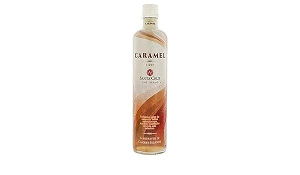 Licor Ron Caramel Santa Cruz - 20% Vol.: Amazon.es ...