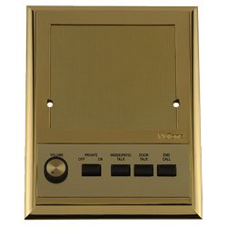 Nutone IS419PB Polished Brass Intercom Patio Speaker for IM4406, IMA4406, IM4006 Systems