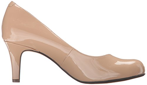 Clarks Arista Abe Dress Pump Brevetto Nudo