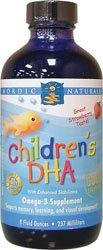 Nordic Naturals - Dha enfants, 8 fl oz liquides