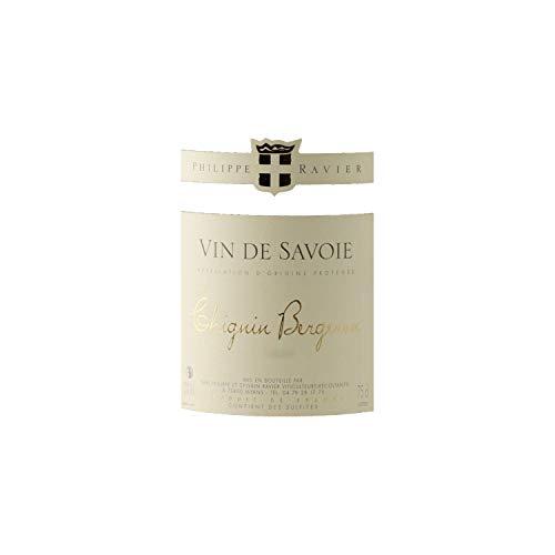 Vin-de-Savoie-Chignin-Bergeron-Blanc-2018-Philippe-et-Sylvain-Ravier-Vin-AOC-Blanc-de-Savoie-Bugey-Cpage-Roussanne-Lot-de-6x75cl