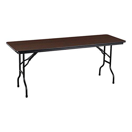 - Norwood Commercial Furniture Melamine Folding Table, 72