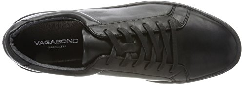 Vagabond Paul, Sneaker Uomo Nero (Black/Black)