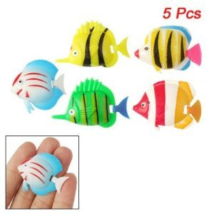 uxcell-aquarium-artificial-movable-tail-swimming-fish-5-pcs