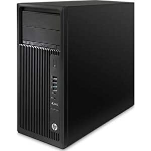 HP L9K21UT#ABA Z240 Tower Workstation E3-1270 3.6GHz 16GB ZTurbo 256G K2200 4GB W7P64/W10