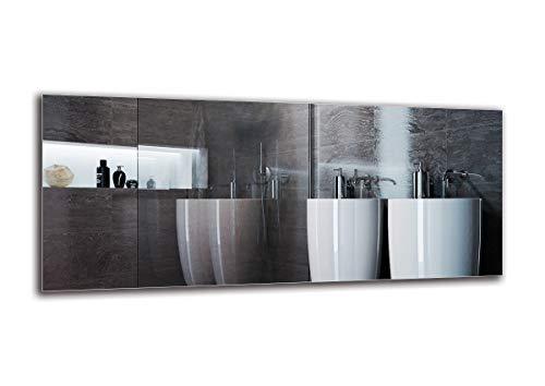 Espejo LED Premium - Dimensiones del Espejo 140x60 cm - Espejo de bano con iluminacion LED - Espejo de Pared - Espejo de luz - Espejo con iluminacion - ARTTOR M1ZP-01-140x60 - Blanco frio 6500K