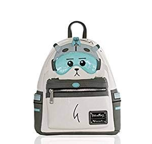 Loungefly Rick and Morty Snowball Faux Leather Mini Backpack Standard