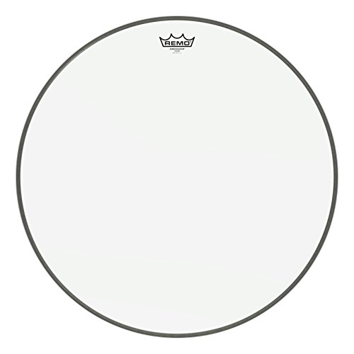 "Remo Ambassador Bass Drumhead - 22"" - Clear"
