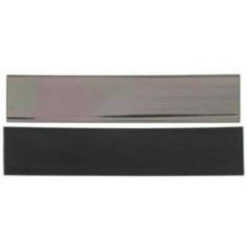 AMACO Friendly Plastic, 1-1/2-Inch-by-7-Inch, Pewter/Black Solid