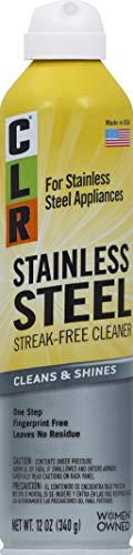 CLR Stainless Steel Cleaner, 12 oz aerosol spray