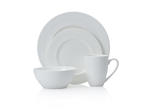 Amazon.com | Mikasa Ortley 16-Piece Bone China Dinnerware Set Service for 4 Dinnerware Sets  sc 1 st  Amazon.com & Amazon.com | Mikasa Ortley 16-Piece Bone China Dinnerware Set ...