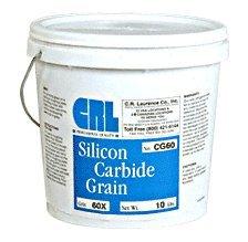 CRL 60 Grit Silicon Carbide Grain - 10 Lbs