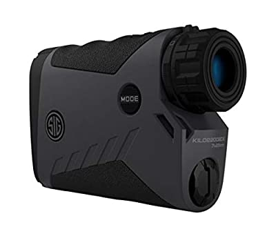 Sig Sauer Kilo2200BDX Laser Range Finding Monocular, 7X25mm, Milling Reticle, Graphite, Class 3R by Sig Sauer