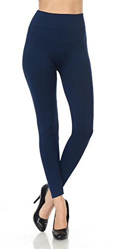 same-mind-inc-womens-ultra-soft-fabric-solid-color-casual-skinny-leggings