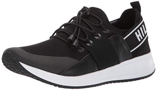 Tommy Hilfiger Women's Roots Sneaker, Black, 6.5 M US