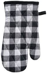 Cotton Gingham Oven Mitt Checkered