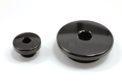(04-09 HONDA CRF250R: Works Connection Engine Timing Plugs (BLACK))