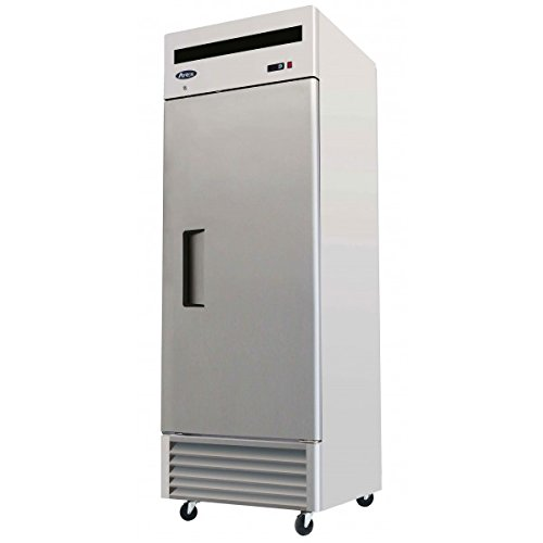 Atosa 27-Inch One Door Upright Freezer with ProLeveler Stabilizers