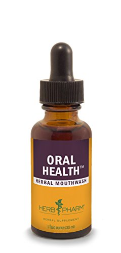 Herb Pharm Oral Health Herbal Mouthwash for Healthy Mouth and Gums - 1 Ounce