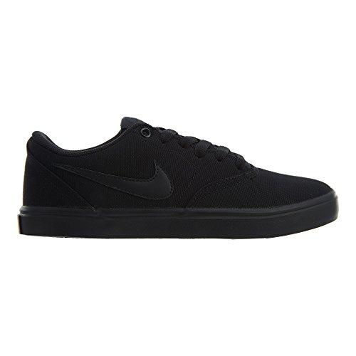 Sb Cnvs Solar Skateboard Check black Nike Wmns Chaussures Femme anthracite Noir De 001 black 5AHxq