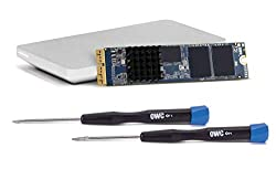 OWC 480GB Aura Pro X2 SSD Complete Upgrade Solution for Mac Pro (Late 2013), High Performance NVMe Flash Upgrade, Including Tools, heatsink, and Envoy Pro Enclosure (OWCS3DAPT4MP05K)