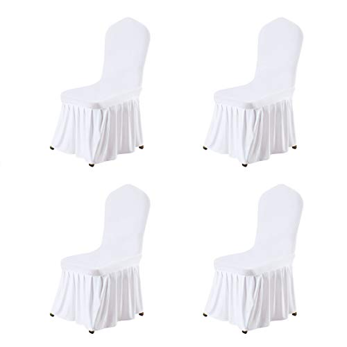 stretch spandex dining room chair
