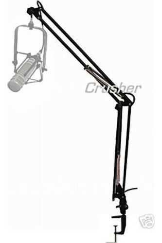 - Crusher Sound MA-42 suspension scissor stand, microphone boom arm