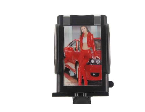 Amazon.com: Universal Car Mount Photo Holder for MP3/MP4/Mobile/GPS/PDA (Black): Car Electronics
