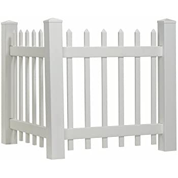 Amazon Com Outdoor Essentials Picket Accent Fence With