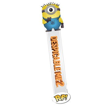Despicable Me 2 Movie Carl Pop! Vinyl Bookmark