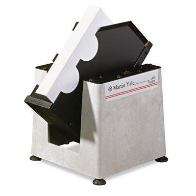 Martin Yale Tabletop Jogger, Gray/Black (PRE400) (Paper Folding Machine)