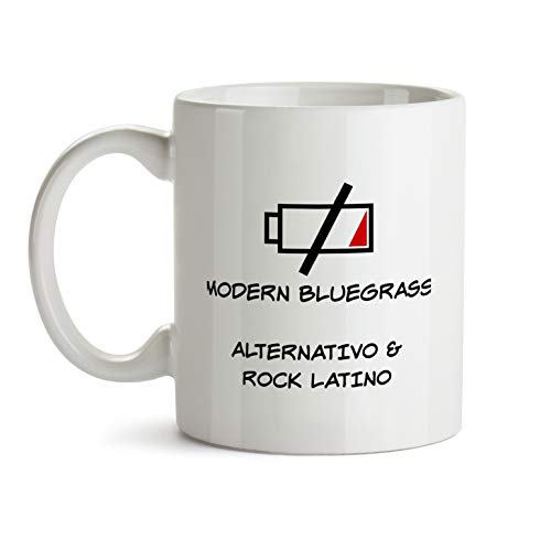 Modern Bluegrass Gift Mug - AA139 Funny Music Lover Musician Player Coffee Tea Cup For Men Women Band Member Listener I Love Gag Recharge Present