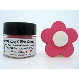 Petal Dust - Charm Pink - FOR DECORATIVE USE (Roxy Charm)
