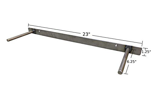24'' Solid Steel Heavy Duty Floating Shelf Bracket Made in the USA by Walnut Wood Works (Image #1)