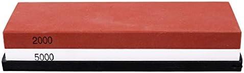 KKmoon 両面二色砥石 包丁研ぎ砥石 キッチン用 削り石 10種類