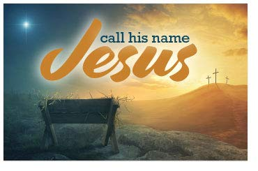 - Call His Name Jesus (Mini Gospel Tract Card, Packet of 100, KJV)