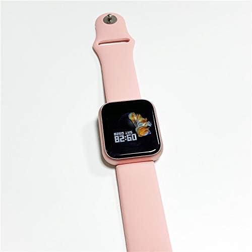 QWERTYU LIFUQIANGME Originele P70 Inteligente del Reloj Brazalete Met Bloeddruk Hartslagmeter Stappenteller rastreador de Ejercicios SmartWatch Voor iOS Android (Kleur : Roze)
