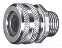 Appleton CG-3150 Aluminum Straight Liquidtight Strain Relief Cord and Cable Connectors for 1/2'' Hub by Appleton