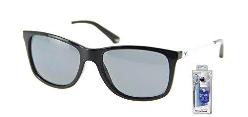 2e2b9747742e Emporio Armani EA4023 Modern Square Sunglasses Bundle-2 Items