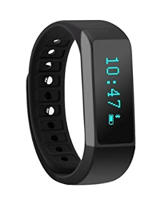 Fitness Tracker, Morefit M5s Plus Touch Screen Bluetooth Smart Wristband