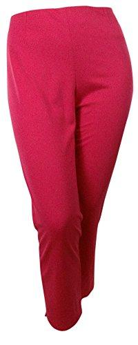 Bar III Women's Skinny Ponte Knit Dress Pants (XXL, Rhubarb)