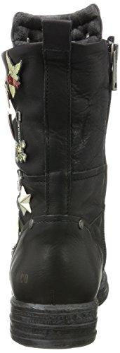 Replay Damen Witt Biker Boots Schwarz (zwart)