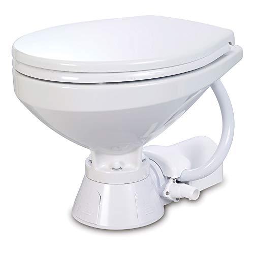 Jabsco 37010-4092 Electric Marine Toilet Regular Bowl 12 Vol
