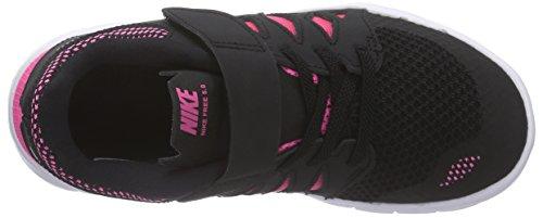 Nike Free 5.0 (GS) - zapatillas de running de material sintético Niños^Niñas negro - Schwarz (Black/Mtllc Silver-Pnk Glw-Wht 001)