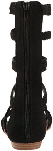 413ylL3UYsL Fergalicious Women's Zaille Gladiator Sandal, Black, 7.5 M US
