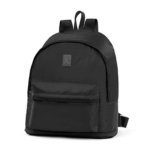 (Travelpro Essentials Foldable Backpack Travel, Black, One Size)