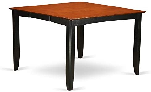 Fairwinds Gathering Counter Height Dining Square 54 Table with 18 Butterfly Leaf finished in Black Cherry