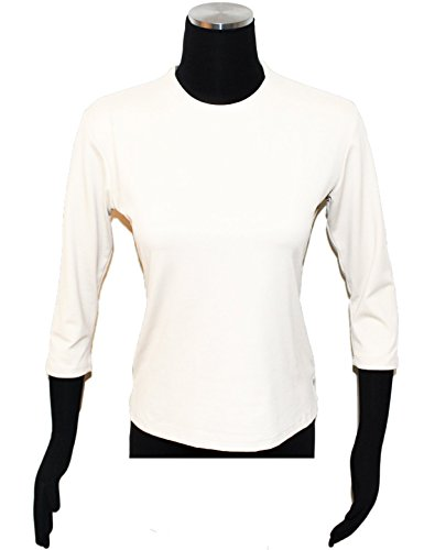 Jonden by Linda Leal Linda Leal Long Sleeve Crew Neck Top at Amazon Women's  Clothing store: